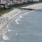 Floridians avoid the beaches as state racks up record numbers of coronavirus cases