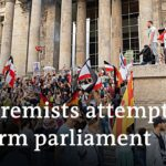 Germany shocked by far-right protesters trying to enter Parliament | DW News