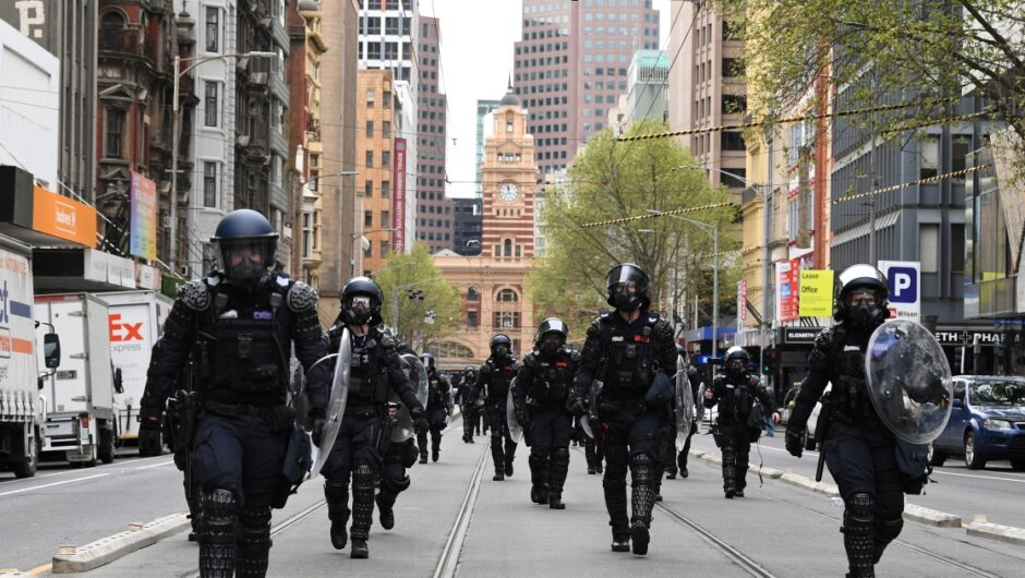 Police tactics questioned as relative calm returns to Melbourne | Coronavirus pandemic News