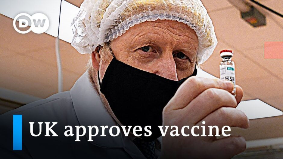 UK becomes first nation to approve BioNTech-Pfizer coronavirus vaccine | DW News