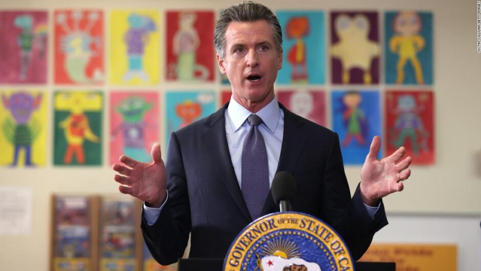 California becomes first US state to require Covid-19 vaccination for students, governor says