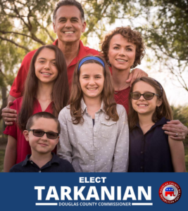 Photo of Danny Tarkanian and his family.