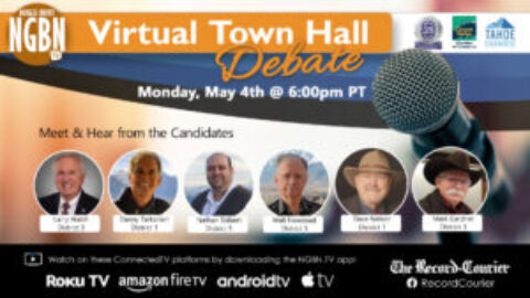 Join us for a Virtual Town Hall Debate