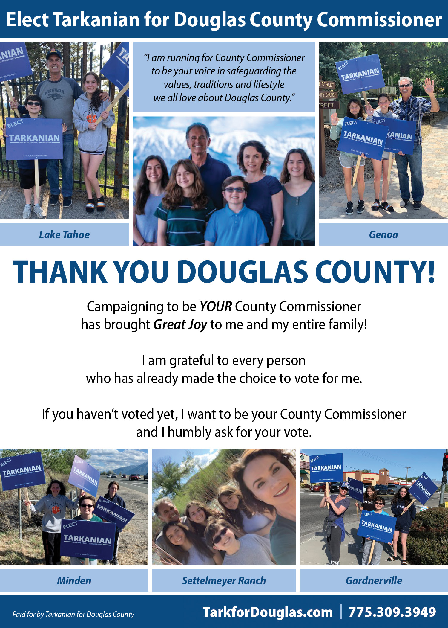 Thank You Douglas County!