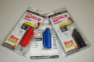 Mace with Key Ring Assorted colors