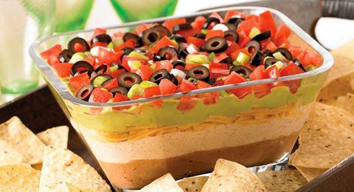 recipe 7 layer dip