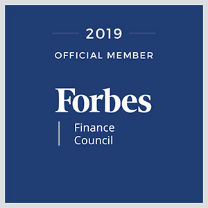 Forbes Finance Council Logo 2019 Official Member