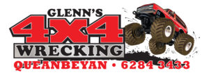 Glenns Queanbeyan 4x4 Wreckers Logo