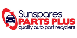 Sunspares Parts Plus Logo Certified Automotive Recycler
