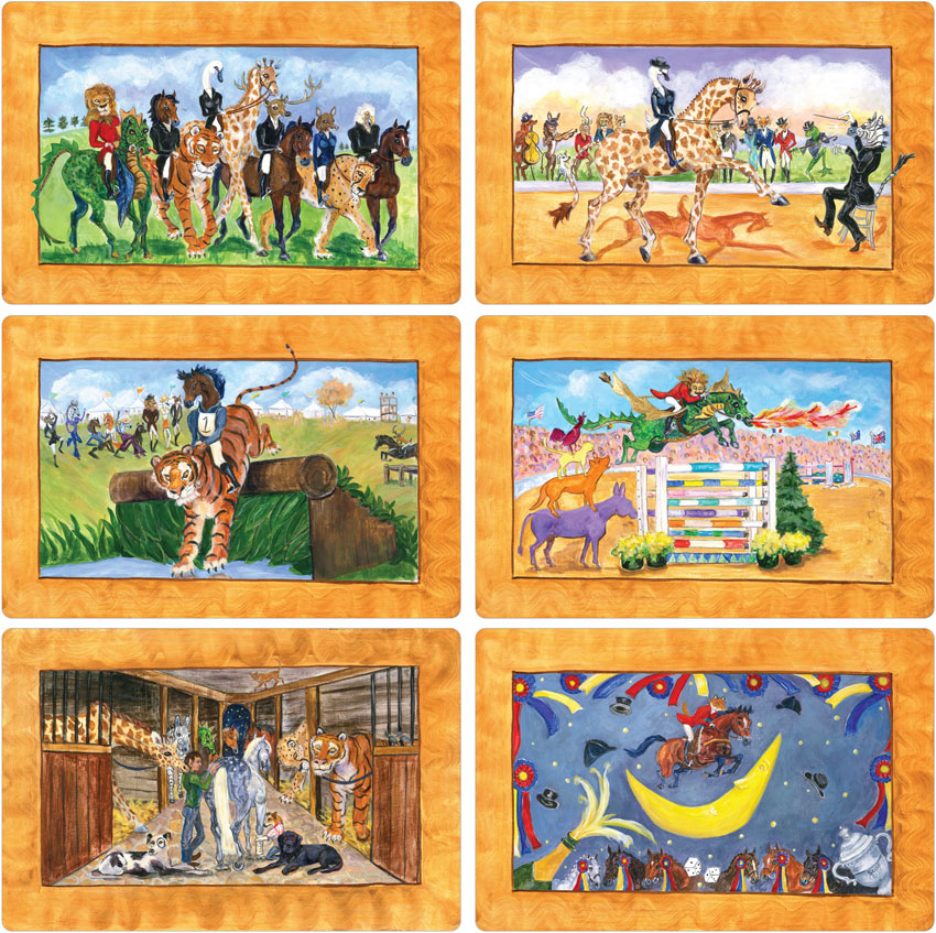 Complete Set of Eventing Laminated - Front