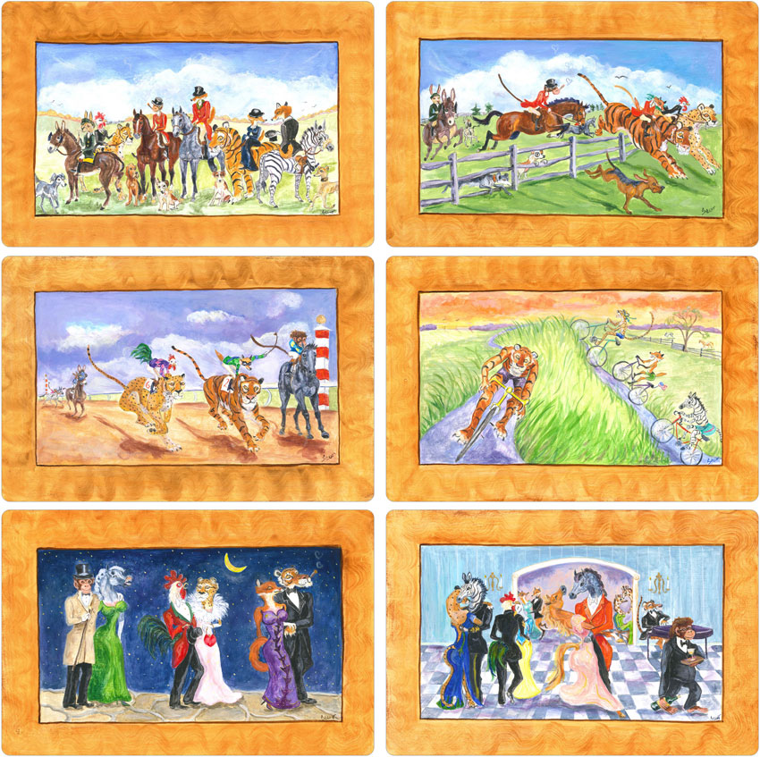 Complete Set Fox Hunting - Front