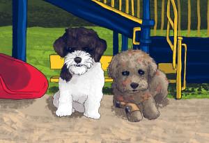 Gladys dogs