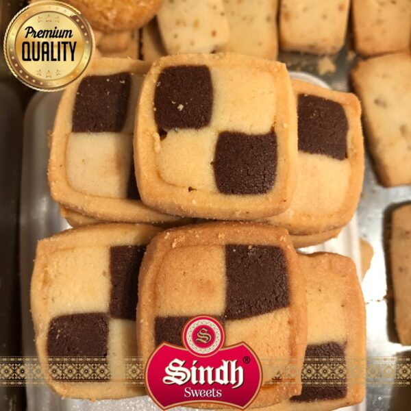 Chocolate Check Biscuit