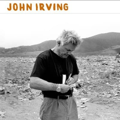 John Irving author website by Adrian Kinloch