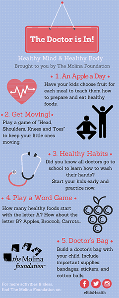 Doctor Activities Bookmark