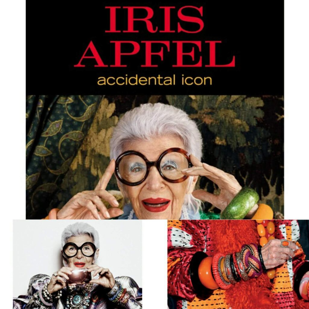 Iris Apfel - day 01 #BookReviewBlogChallenge for prompt Dreams & Ambitions
