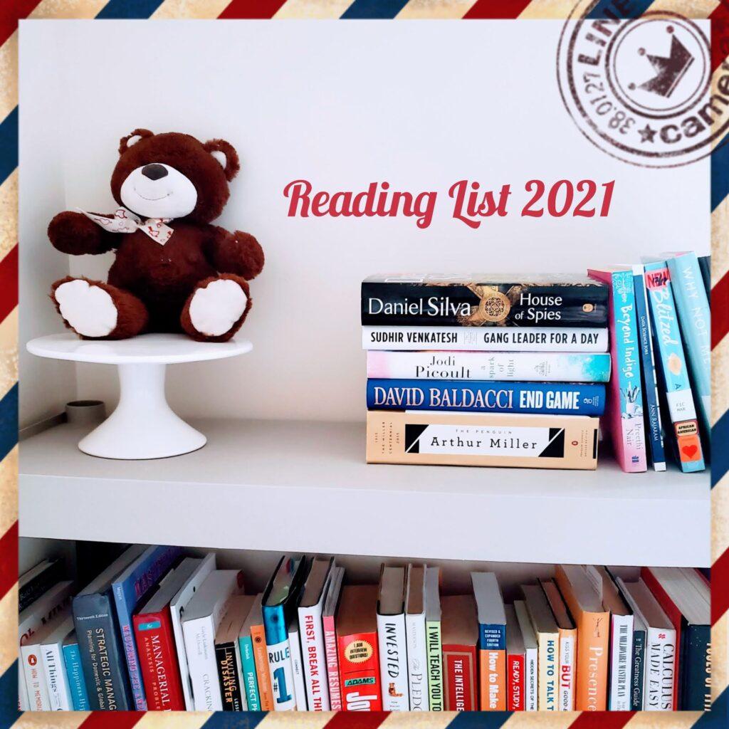Reading Lists 2021