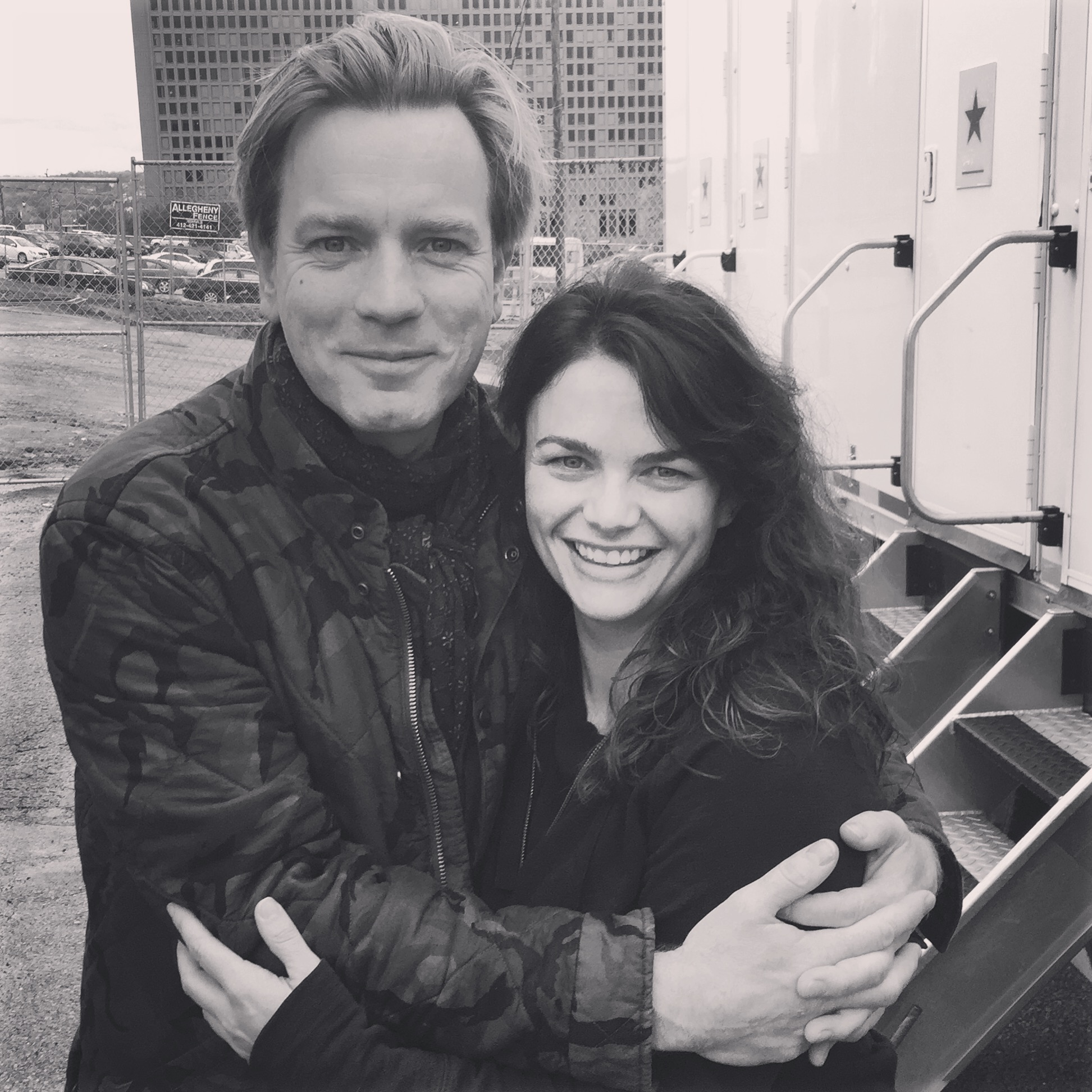 Working with Ewan McGregor in Pittsburgh 2015