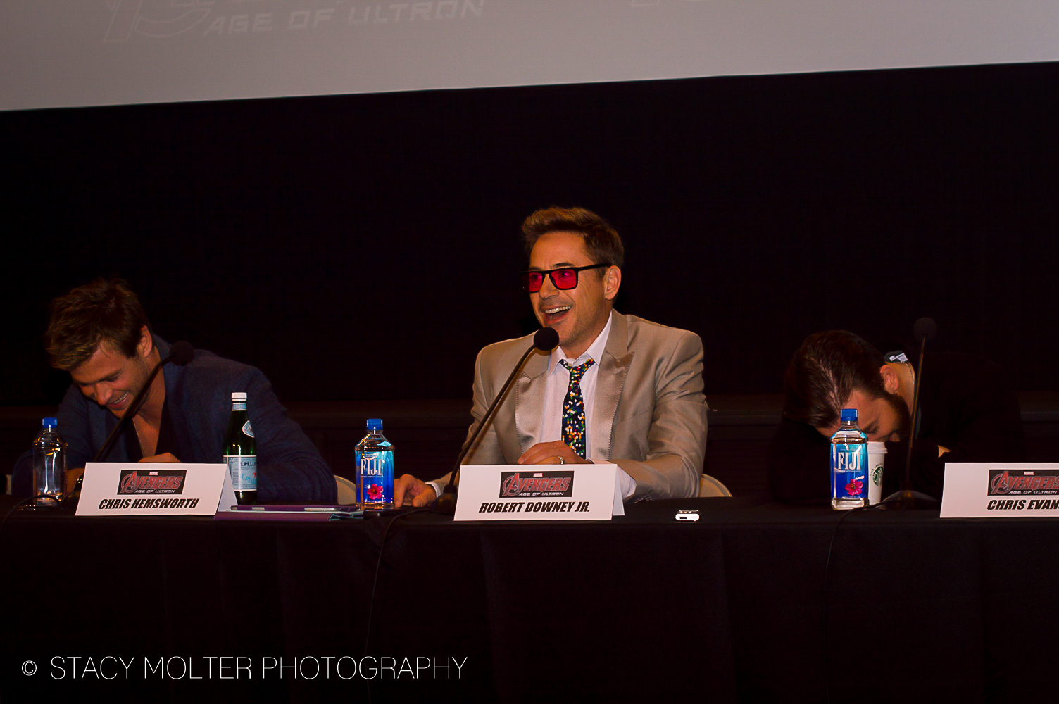 Avengers Age of Ultron Press Conference Junket