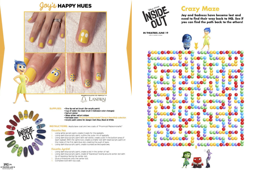 Free Printable Inside Out Activities for Kids