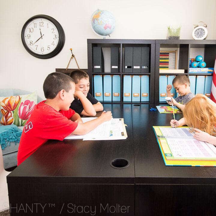 Elementary Grade Homeschool Schedule