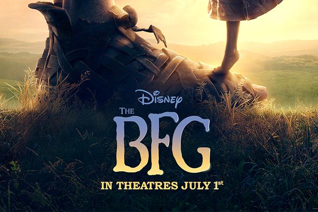 The BFG Free PDF Poster