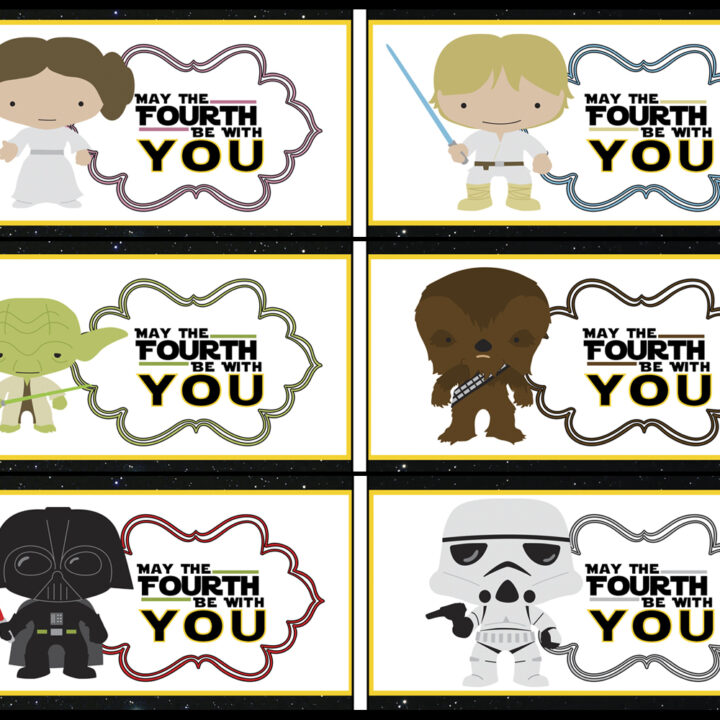Star Wars May The Fourth Be With Your Party Printables