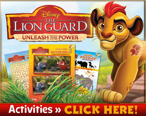 Lion Guard Unleash the Power Free Printables and Activities