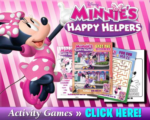 Minnie's Happy Helpers Activity Games
