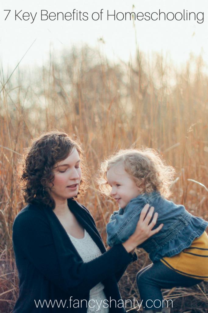 7 Key Benefits to Homeschooling