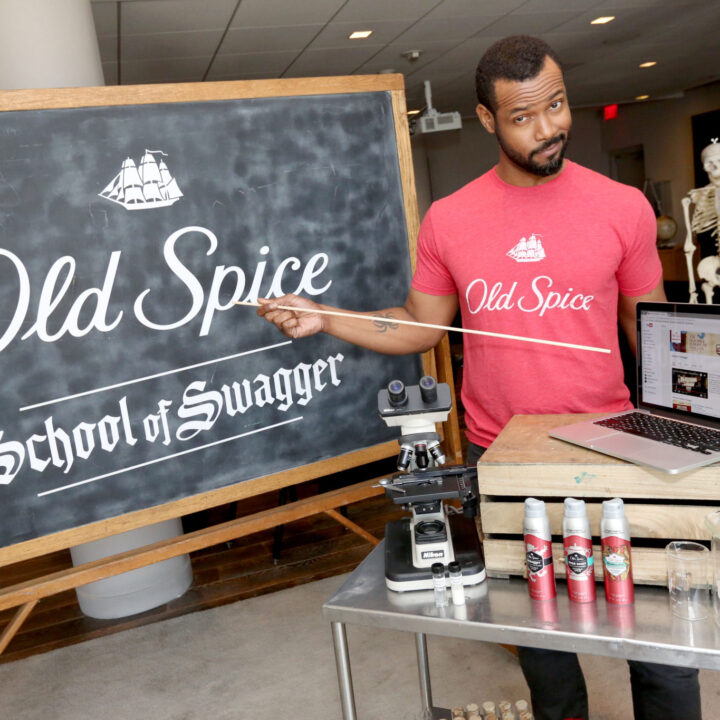 Old Spice School of Swagger