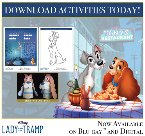 Lady and the Trap Activity Pages