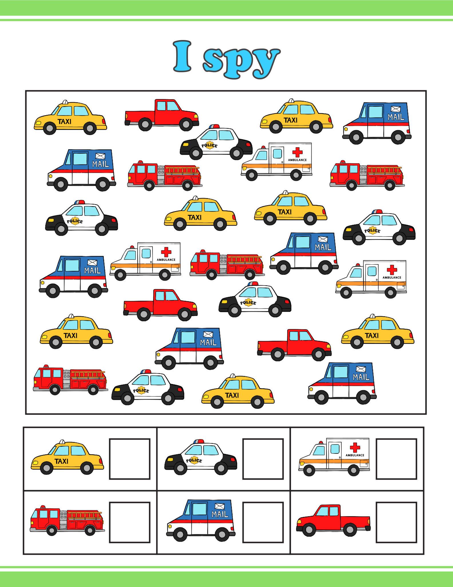 Free Printable Road Trip Games for Kids