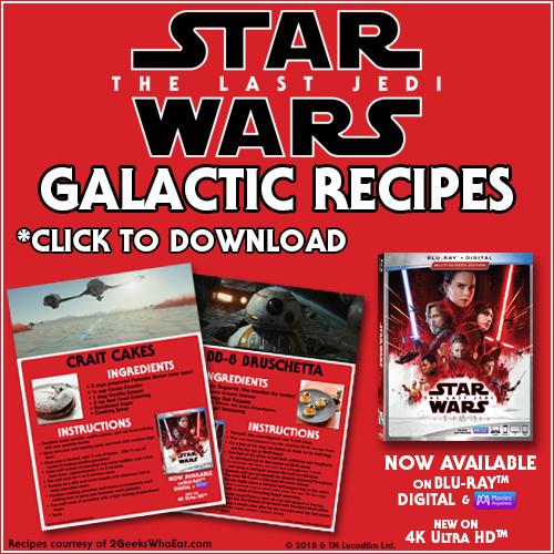 Star Wars: The Last Jedi Galactic Recipes