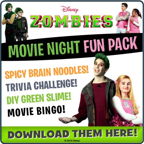 Disney Zombies Movie Night Fun Pack
