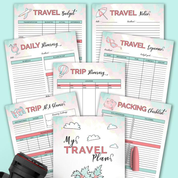 Free Printable Travel Planner