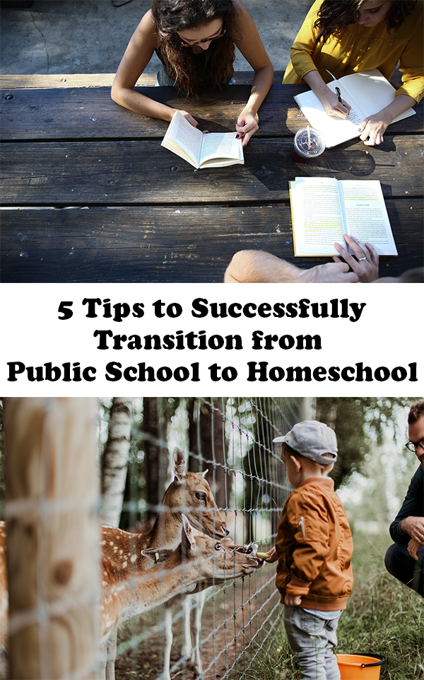5 Tips to Successfully Transition from Public School to Homeschool