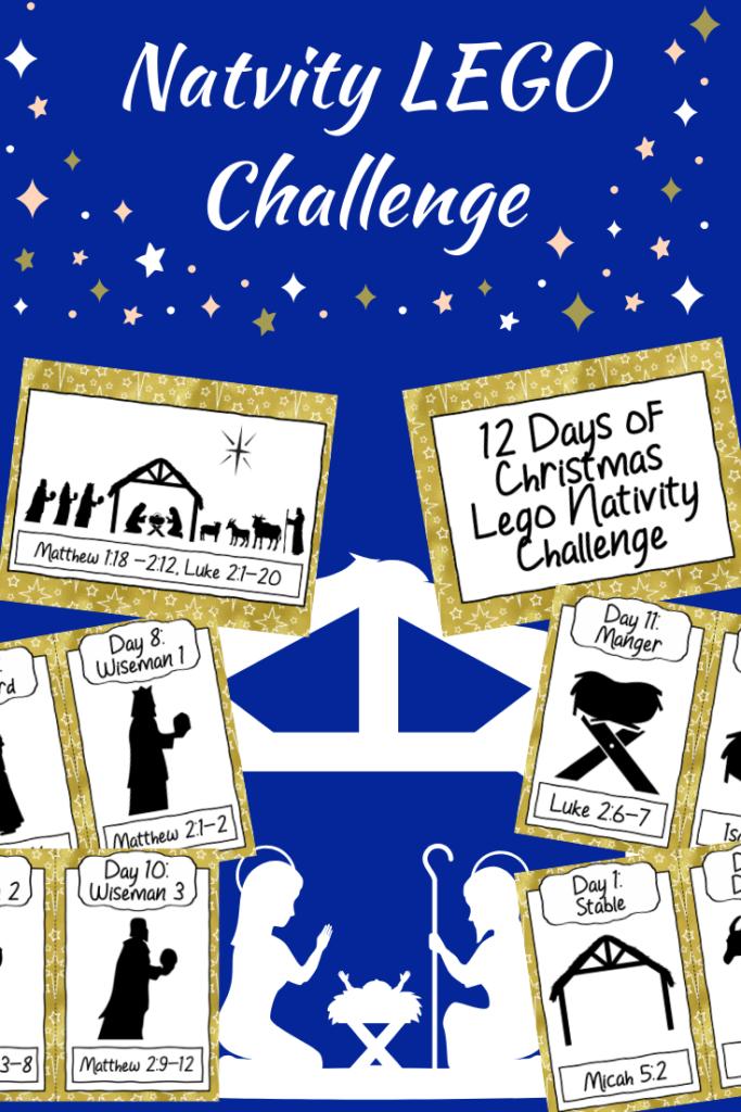 12 Days of Christmas LEGO Nativity Challenge