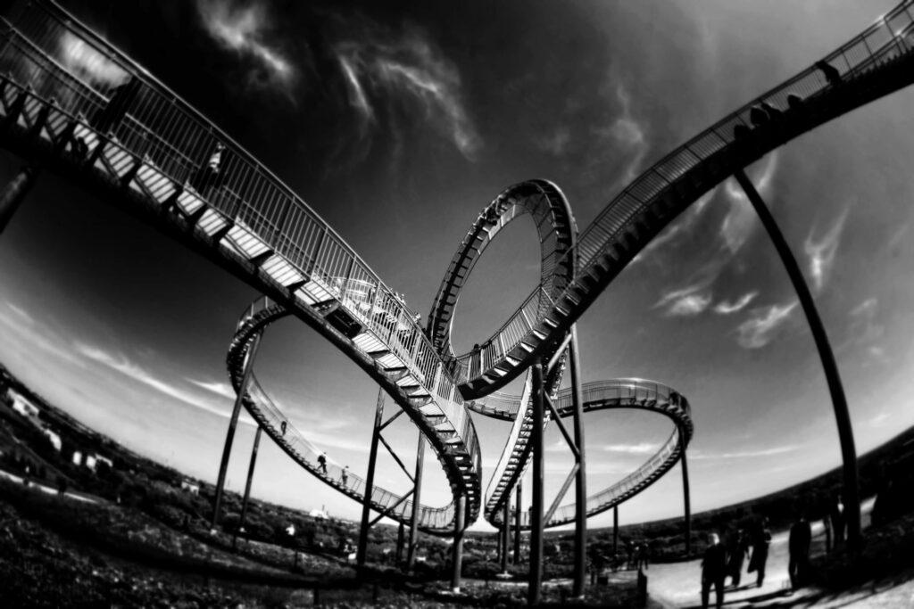 10 Insane Roller Coasters in California