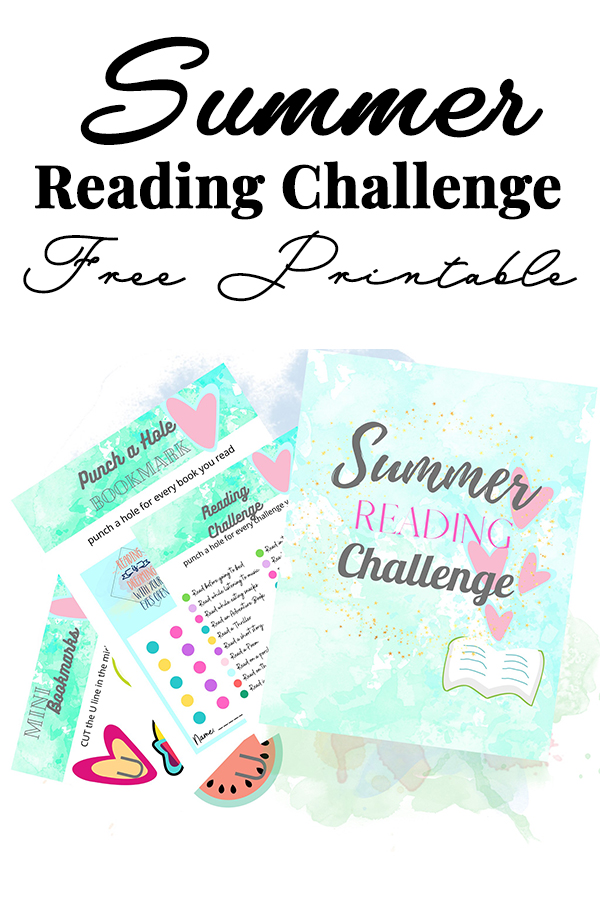 Summer Reading Challenge Printable