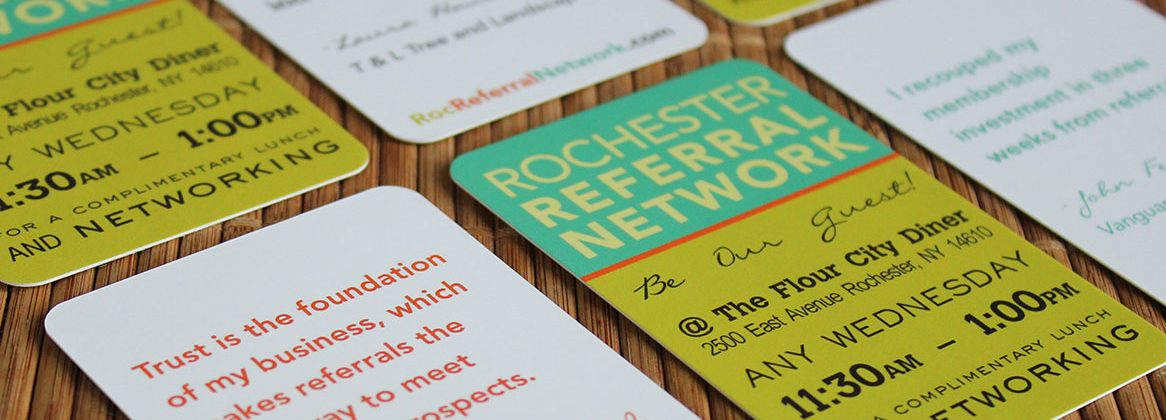 Rochester Referral Network cards