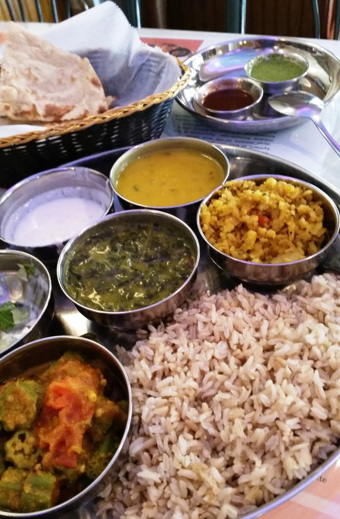 Lunch at the Ayurveda Cafe