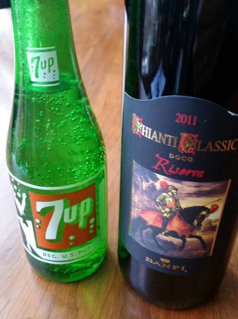 7Up and Chianti - a match made in heaven