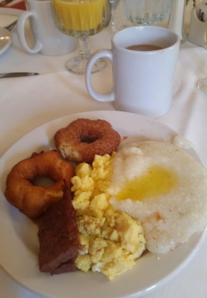 An Arlington Hotel breakfast