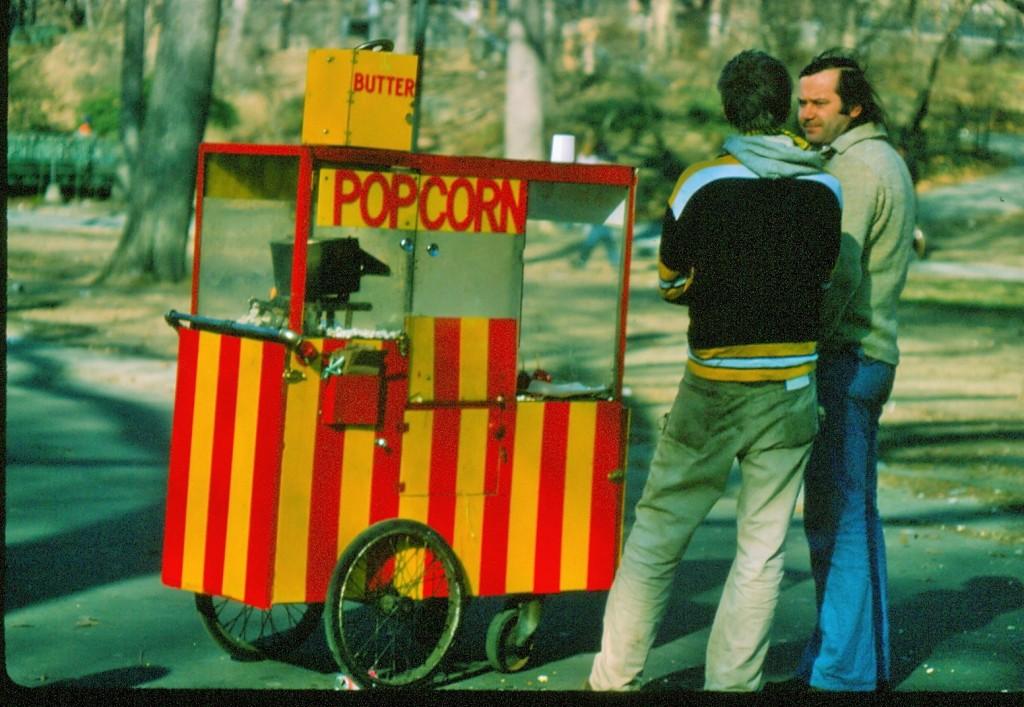 Central Park pop corn