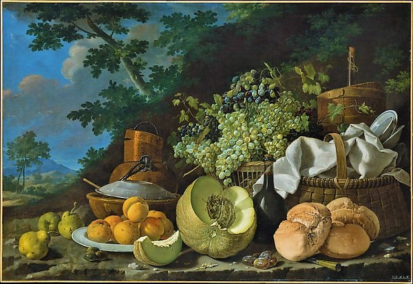The Late Afternoon Meal - Melendez (The Met)