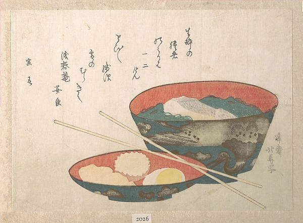 Bowl of New Year Food - Teisai Hokuba, The Met