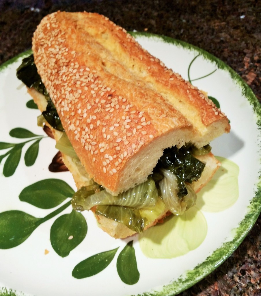 escarole sandwich
