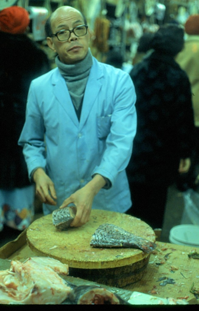 Fresh fish in Chinatown