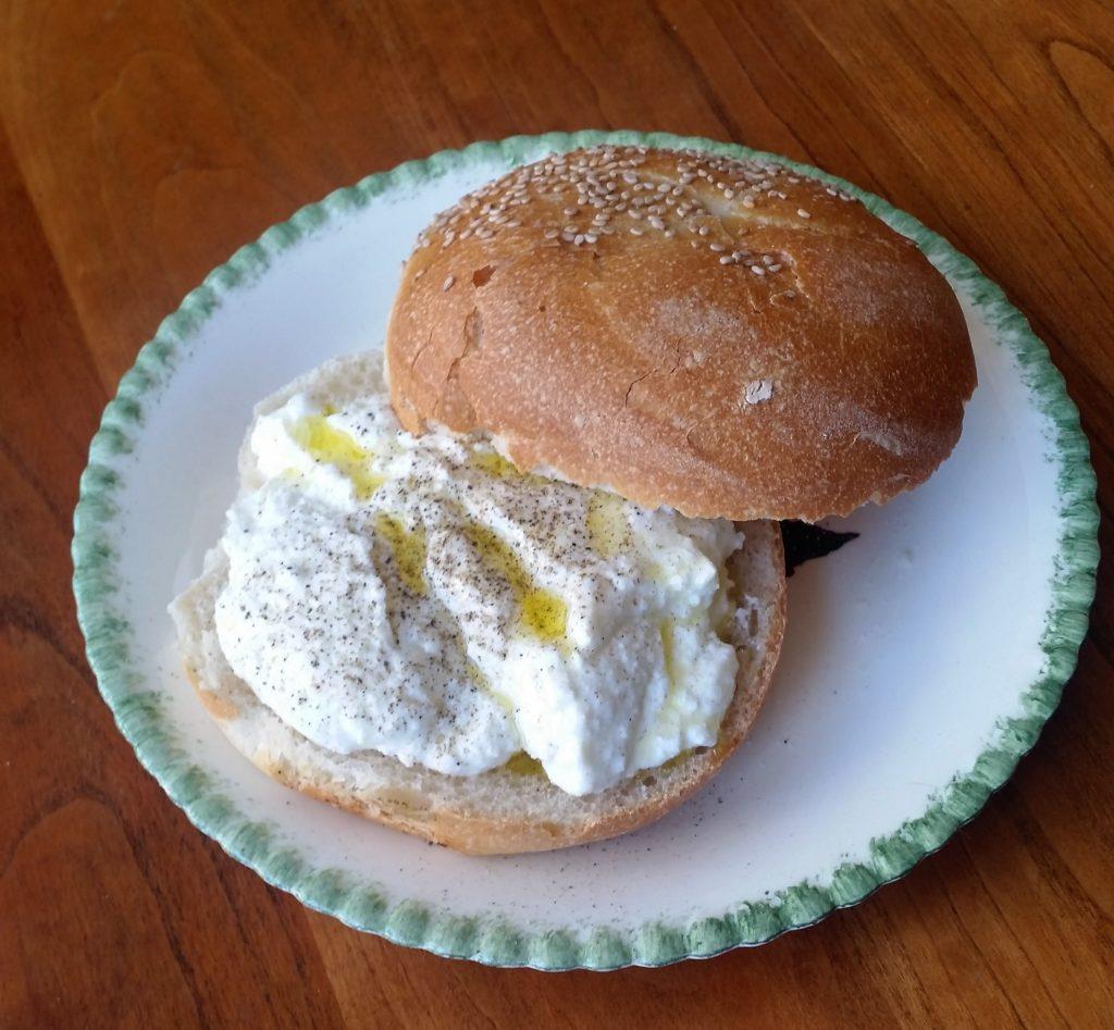 ricotta sandwich